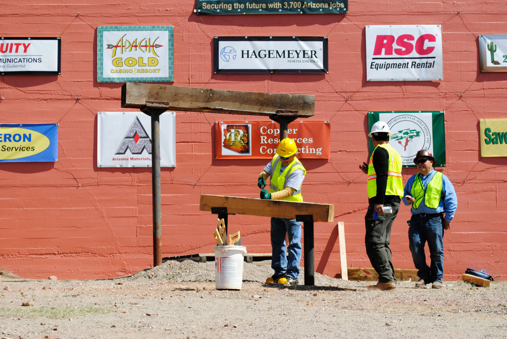 Apache Leap AZ mining contest nails and saws 012