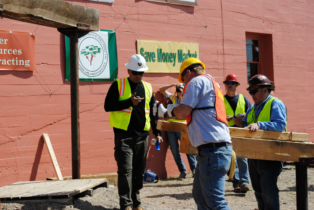 Apache Leap AZ mining contest nails and saws 014