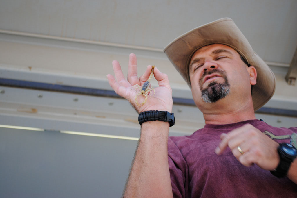 Apache Leap Wildman Phil and reptiles 001