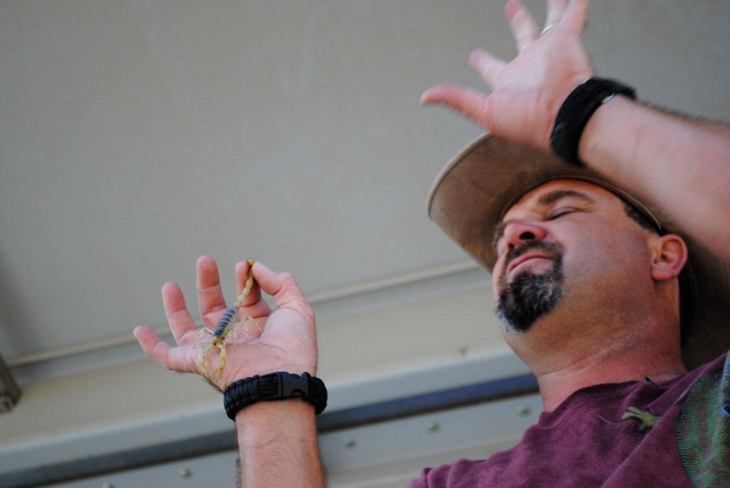 Apache Leap Wildman Phil and reptiles 002