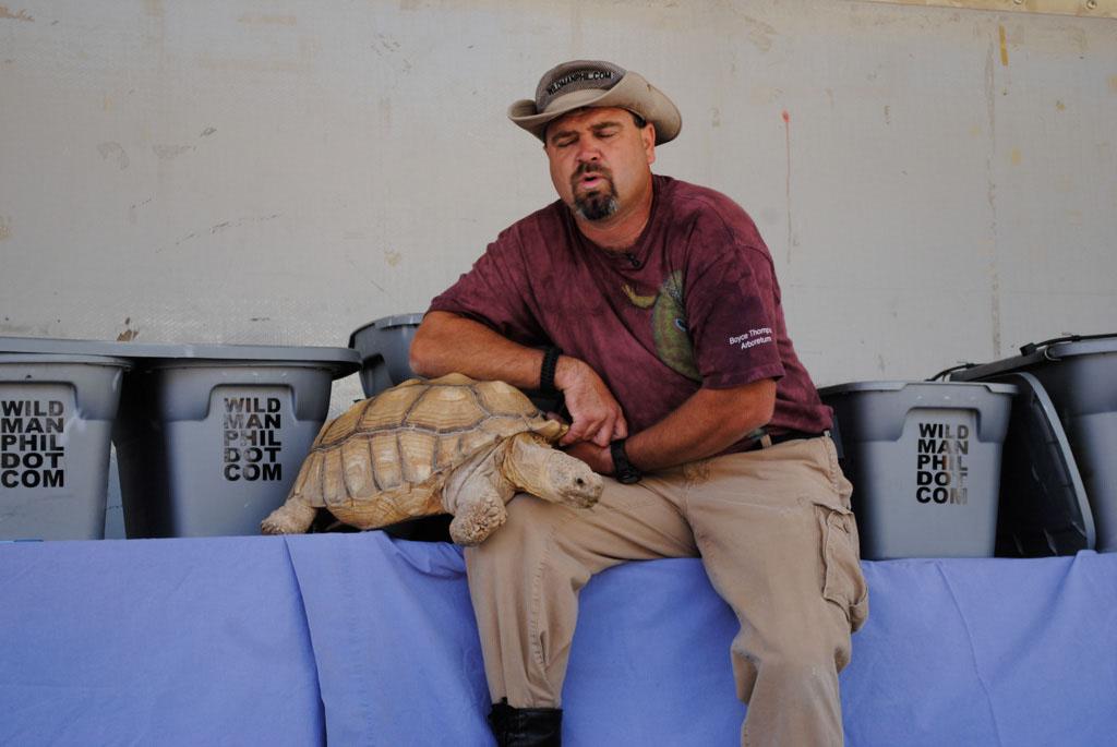 Apache Leap Wildman Phil and reptiles 012