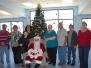Santa at the Senior Center in Mammoth 2012