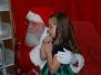 Santa visits the Mammoth Library 2012