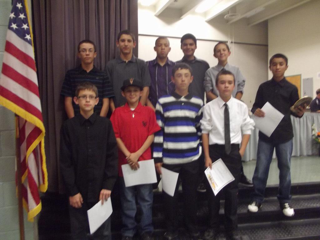 Jr. High Sports Banquet 107