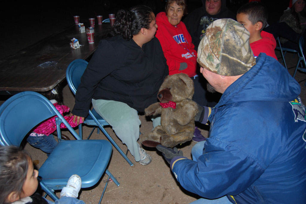 Bonfire & an evening with Santa_087