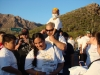 honored-girl-with-her-family-for-cancer-walk
