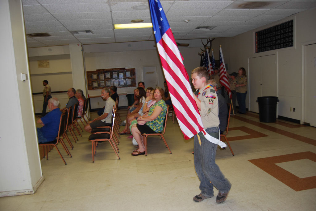 Flag Day at the San Manuel Elks 2013 _001