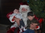Santa at Rancho Robles 2012