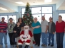 Santa at the Senior Center in Mammoth 2012