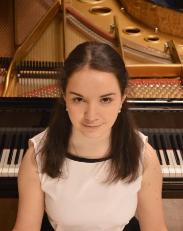Christina Shatuho, Estonian pianist, performs with the Rice Brothers at Gold Canyon United Methodist Church Sunday, August 17, 3:00 pm.