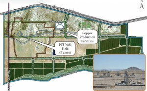 Despite its controversial status, the Florence Copper Project has been granted an Aquifer Protection Permit for Phase 1 development. Photo courtesy of FlorenceCopper.com.