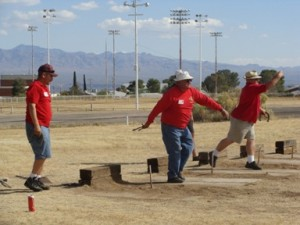 Bribiescas-Estrada team keep horseshoe trophy local
