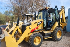 The Town of Mammoth has purchased a new Caterpillar 420 F backhoe loader. The loader was purchased for $104,000 from Empire Caterpillar in Eloy.