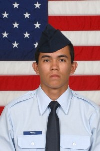 Air Force Airman Jesus F. Parra IV