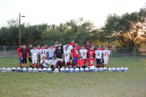 The Miners Pop Warner Football Team (Nicole Baca photo)