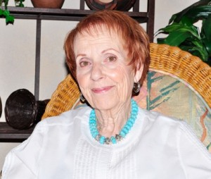 SBCO co-founder Marcia Weitzman is pictured here in her home earlier this summer. She graciously gave her time to help document SBCO's early history.