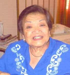 Rosita David Dalmacio, 79, of Mesa, passed away Sun., Sept. 30, 2012 in Mesa.