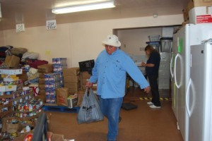 The Tri-Community Food Bank provided 240 holiday food boxes for Thanksgiving this yea