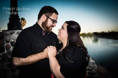 Kimberly Lynn Horvath, right, and Stephen Thomas Archuleta will wed March 18, 2016.