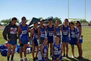 Miners Cross Country competes at Section Meet