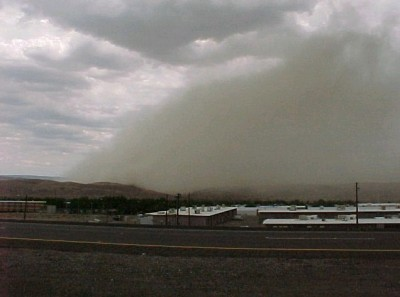 Dust storms are an underrated killer in Arizona. Photo courtesy of NOAA.gov