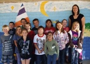 Mrs. Moreno's third grade class has won the 'Pride of Our Pride' title for the 2012-13 first quarter. These students, using their best Cougar Manners during lunch time, succeeded in keeping 37 out of 40 Cougar Paws for the entire first quarter. Congratulations to this great group of kids. (Submitted photo)