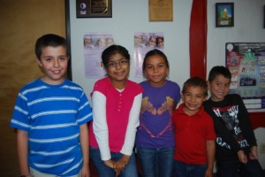 Students of the month for September are: Kinder – Johnny Smallhouse, First Grade – Diego Camarena, Second/Third Grade – Miriam Rodriguez, Fourth Grade – Ana Ahumada, Fifth/Sixth Grade – Pacey Smith-Garcia.